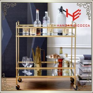 Cart (RS150504) Trolley Liquor Trolley Stainless Steel Furniture pictures & photos