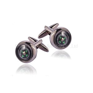 Men′s Fashion Noble Silver Cufflinks Wedding Gifts