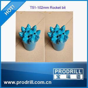 Special Buttons T51-102mm Rocket Bit for Limestone Drilling pictures & photos