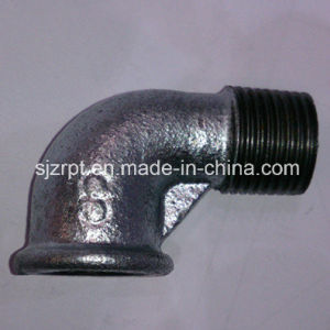 Street F&M Beaded Galvanized Elbow Malleable Iron Pipe Fittings pictures & photos