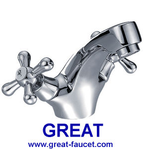Double Handle Basin Mixer (GL3721X10) pictures & photos