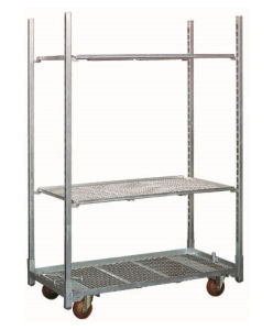 Greenhouse Warehouse Flower Cart/ Greenhouse Trolley/ Nursery Rack pictures & photos