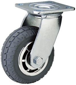 "8"" Swivel Type Double Ball Bearing PVC Caster (HE-A-200-QBG)"