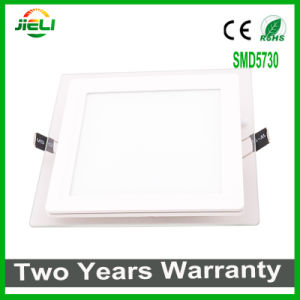 Top Quality Square Aluminum+Glass SMD5730 LED Panel Light pictures & photos