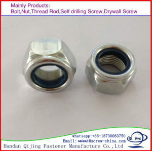 Fastener Nylon Lock Nut, Zp Plated pictures & photos