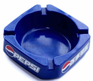 Cola Logo Printed Square Advertising Gift Square Melamine Ashtray pictures & photos