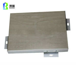 Aluminum Panel Solid Cladding Decorative Siding Panel Facade Cladding pictures & photos