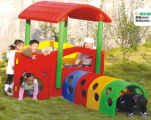 Children play house Outdoor Playground QQ12089-2 pictures & photos