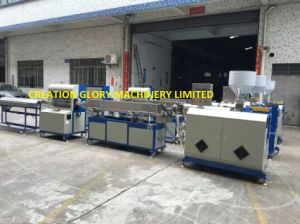 Siemens PLC Controlled Fluoroplastic Tubing Plastic Extruding Manufacturing Machinery pictures & photos