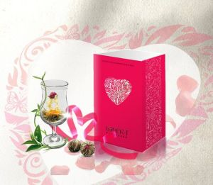 Wedding Gift Flower Tea, High Quality Artistic Tea, Healthy Blooming Tea for Europe and America Market