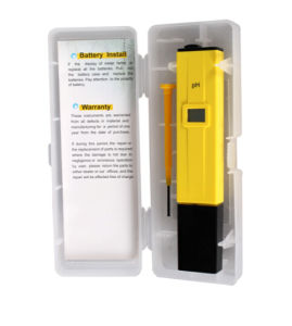 Digital pH Tester with High Quality Portable Type pictures & photos