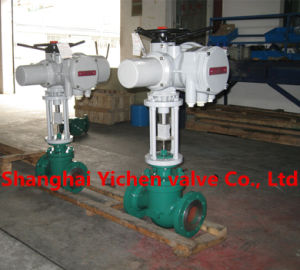 Rotork Electric Actuator Globe Type Control Valve pictures & photos