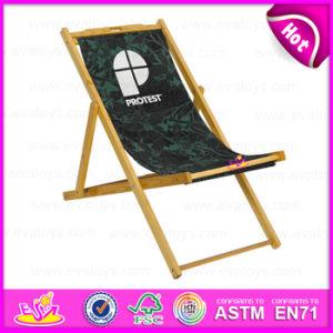 2015 Fashion Modern Outdoor Beach Chair, Stable Cheap Wooden Folding Beach Chair, Wholesale Wooden Beach Chair W08g035 pictures & photos