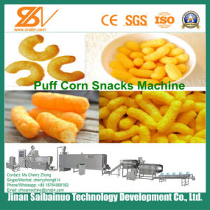 Corn Rings/Corn Curls Extruder, Extrusion Machine pictures & photos