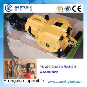 Hand Held Gasoline Rock Drill for Vertical Breaking pictures & photos