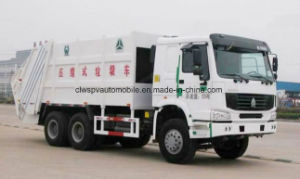 Sinotruk HOWO Waste Collect Truck 20 Cbm-25 Cbm Heavy Garbage Compactor Truck pictures & photos