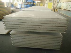 High Quality Insulation Color Steel Polyurethane Sandwich Panel PU Panel Sandwich pictures & photos