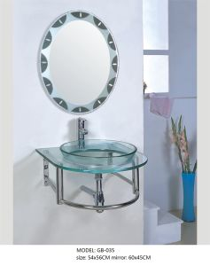 Transparent Glass Basin Sink pictures & photos