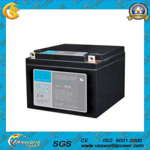 12V 24ah Mf Rechargeable Solar Lead Acid Battery pictures & photos