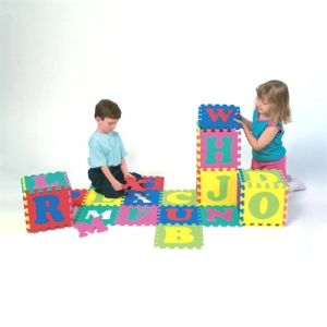 Non-Toxic EVA Interlocking Puzzle Mat Alphabet ABC Foam Tiles Underlayment Manufacture pictures & photos