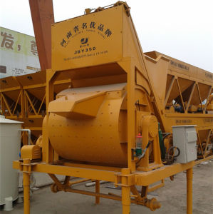 Hydraulic Discharging Mobile Concrete Mixer (JDY350) pictures & photos