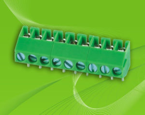 PCB Screw Terminal Block with 3.5mm Pin Spacing pictures & photos