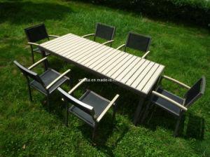 Textilen Outdoor Garden Dining Set pictures & photos