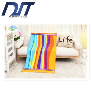 Factory Direct Special Soft Water Absorption Superfine Fiber Beach Towel pictures & photos