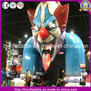 Hot Inflatable Clown Archway Gate Arch for Halloween Decoration