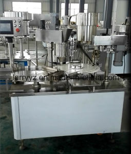 Fjz-1 Vials Powder Filling Plugging Capping Machine & Vial Powder Filling Stopering Crimping Machine pictures & photos