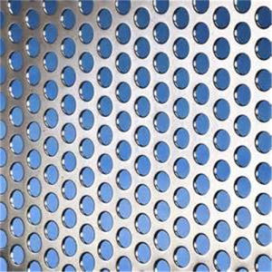 Aluminium Alloy Perforated Metal Mesh with Round Hole pictures & photos
