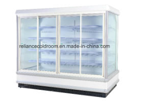 Refrigerated Multideck Showcases with Glass Door pictures & photos