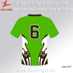 Sublimation Fashion Any Logo Blank All Blacks College Rugby Jersey pictures & photos
