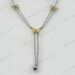 2013 Classic Design Gold-Plating Steel Necklace