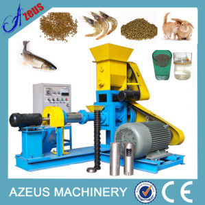 Floating and Sinking Food Extruder Fish Feed Machine with CE