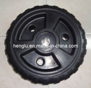 18 Inch PP Black Rolling Dock Wheel for USA pictures & photos