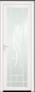 Asia Popular White Aluminum Bathroom Door (EA-9691) pictures & photos