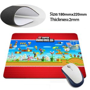 Custom Logo Printing Anti Slip Rubber Computer Mouse Pad pictures & photos