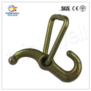 Hot Sale Forged Steel Galvanized J Hook with D Ring pictures & photos