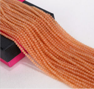 Wholesale Loose Jade Strand Size 2mm 3mm Wholesale Red Aventurine Gemstone pictures & photos