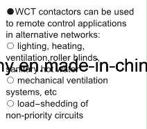 New Wiring Diagram Household AC Contactor (WTC-63A 2P) pictures & photos
