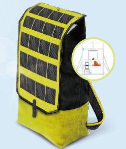 Light Travel Sports Smart Solar Backpack