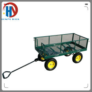 700kgs Capacity Tool Cartsteel Mesh Garden Cart pictures & photos