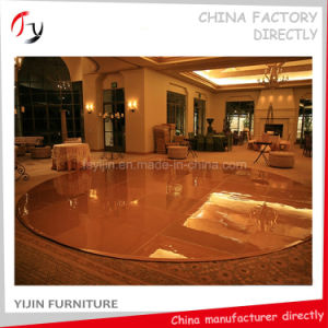 Combined Round Shape Polishing Painting Dance Floors (DF-31) pictures & photos