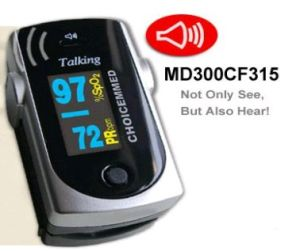 Handheld ECG Monitor Fingertip Pulse Oximeteroximeter CF315 pictures & photos