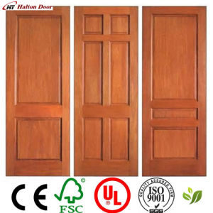 Solid Wood Interior/Exterior Swing Timber Door/Timber Wooden Door/Timber Wood Door