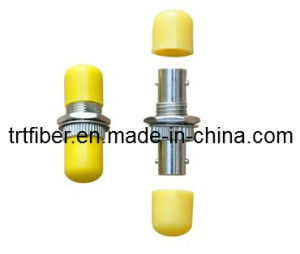 ST Metal Fiber Optic Adapter (fiber coupler) pictures & photos