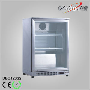Countertop Commercial Single Glass Door Beer Bottle Cooler (DBQ-126S2) pictures & photos