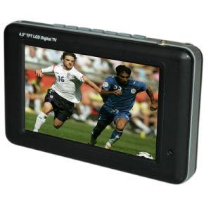 "4.3"" ISDB-T 1seg TFT LCD Portable TV (LDT-530/1BR/JP)"