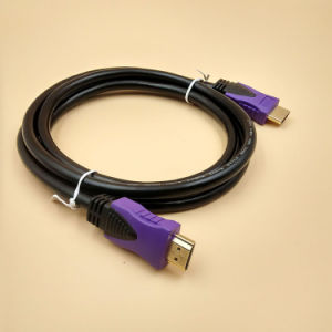 High Speed HDMI to HDMI Male to Male Cable Double Color pictures & photos